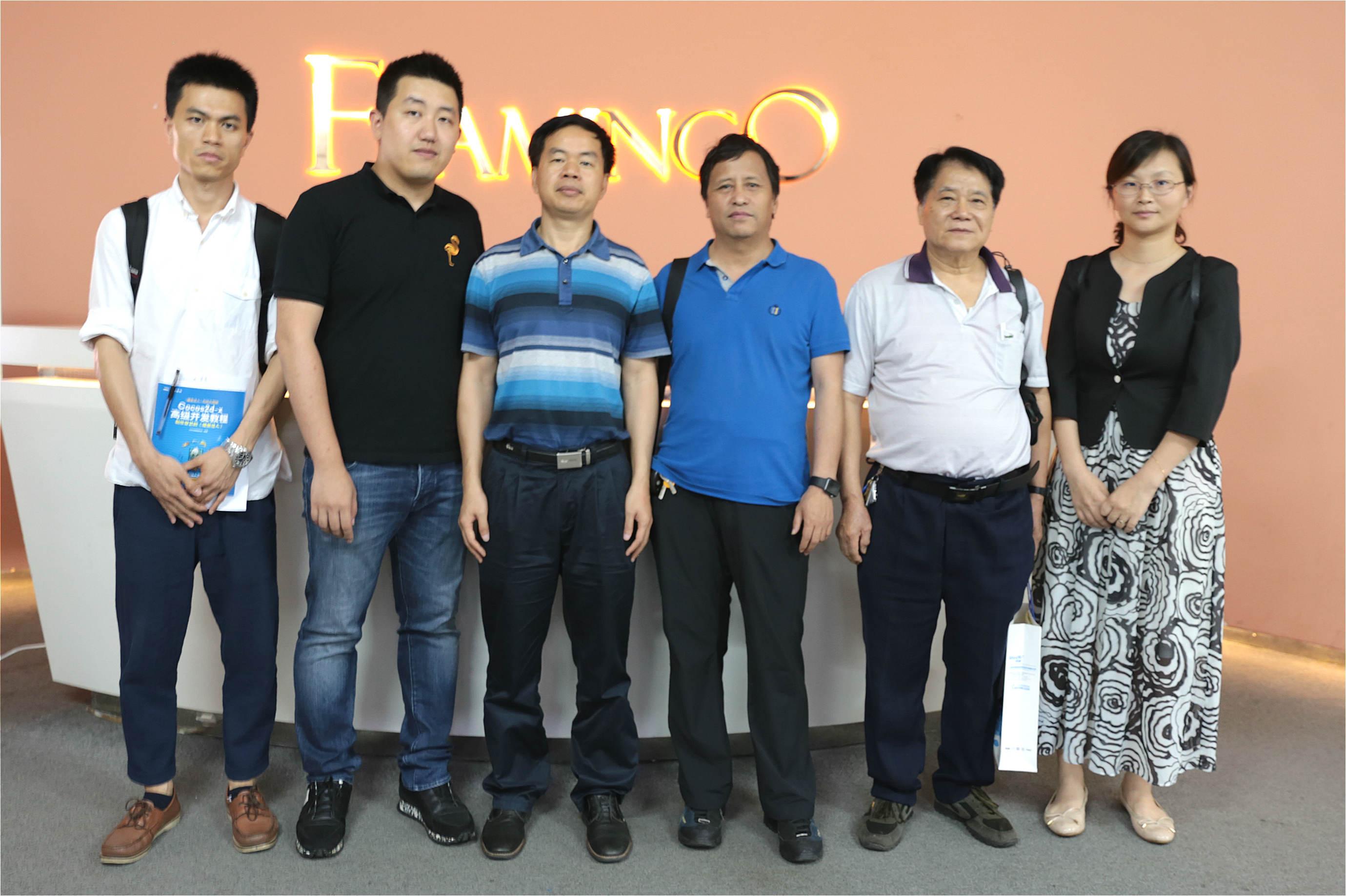 火烈鸟网络与华南理工大学举行大学生实习实训基地挂牌仪式